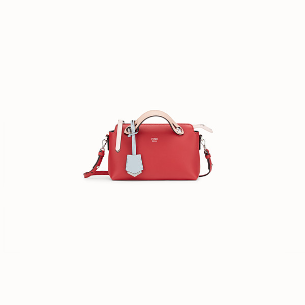 FENDI BABY BY THE WAY - Red leather mini By The Way - view 1 small thumbnail