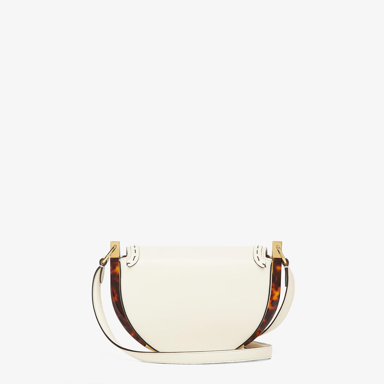 FENDI MOONLIGHT - White leather bag - view 4 detail