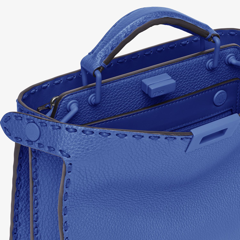 FENDI PEEKABOO ISEEU MINI - Blue leather bag - view 6 detail