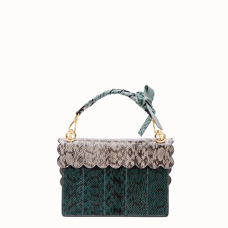 FENDI KAN I - Green elaphe bag - view 3 detail