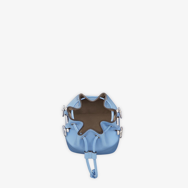FENDI MON TRESOR - Pale blue leather minibag - view 4 detail