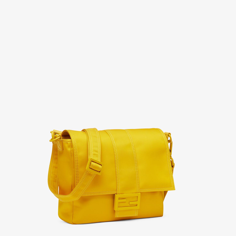 FENDI BAGUETTE MESSENGER BAG MEDIUM - Yellow nylon bag - view 2 detail