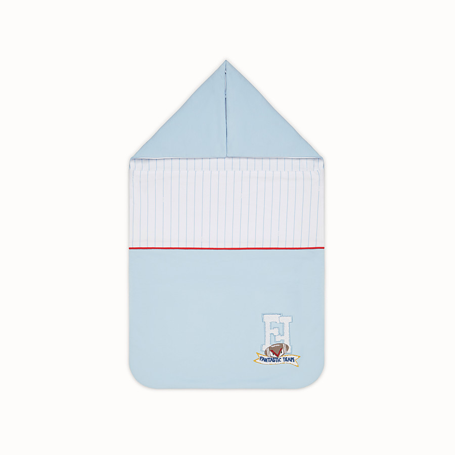 FENDI BABY BOY'S SLEEPING BAG - Multicolour jersey sleeping bag - view 1 detail