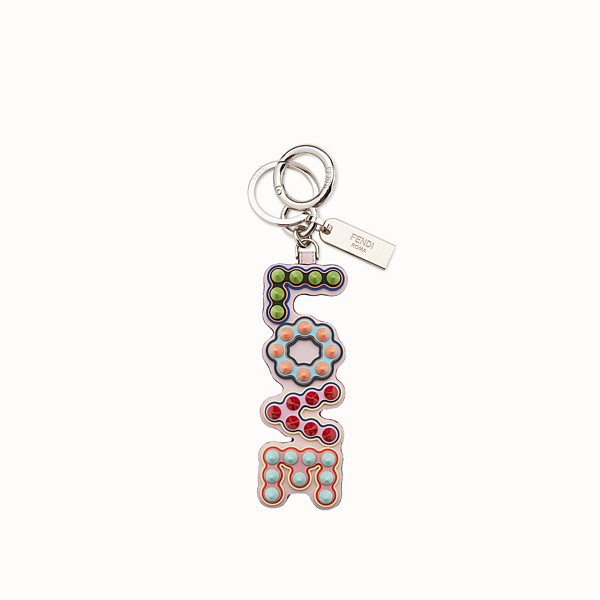 FENDI CHARM USB - LOVE - USB charm in pelle multicolor - vista 1 thumbnail piccola