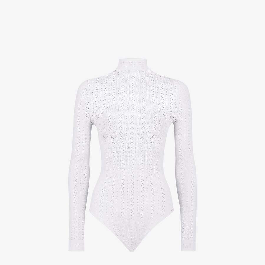 FENDI BODY - White lace body - view 1 detail