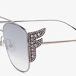 FENDI FFREEDOM - Gafas de sol plateadas - view 3 thumbnail