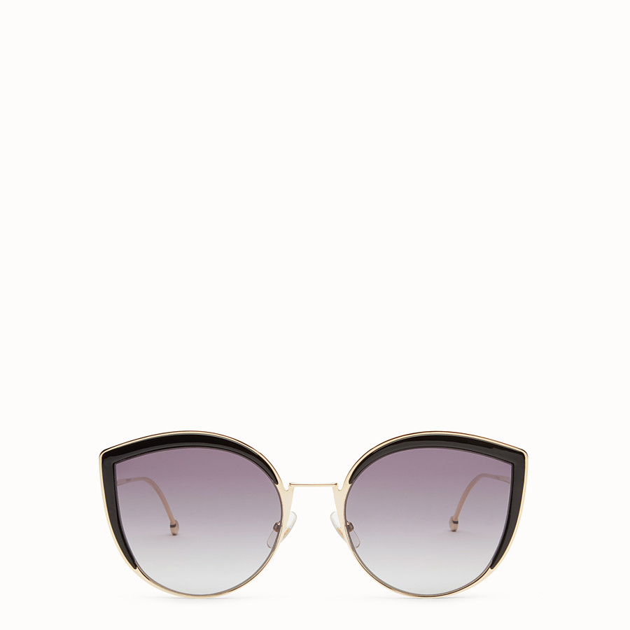 FENDI F IS FENDI - Gold-colour sunglasses - view 1 detail
