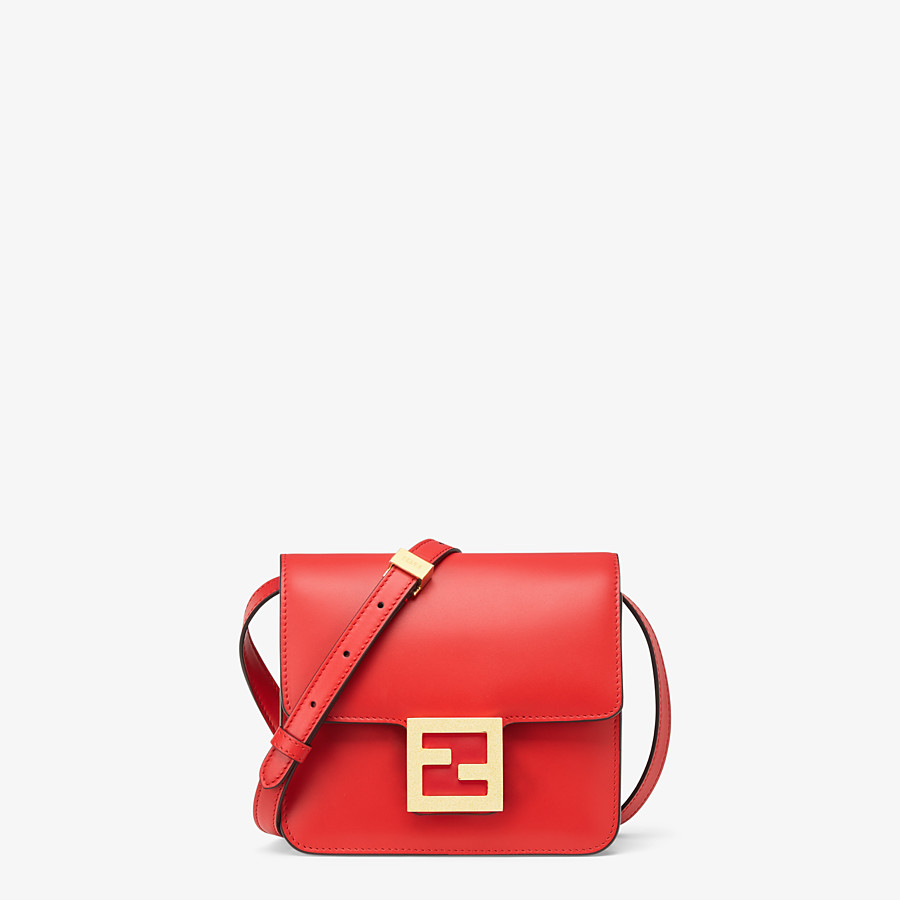 FENDI FENDI FAB - Red leather bag - view 1 detail