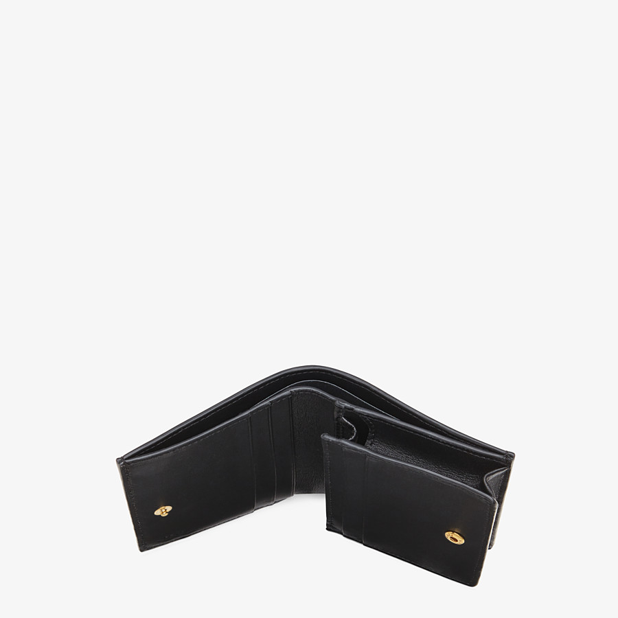 FENDI SMALL WALLET - White nappa leather wallet - view 4 detail