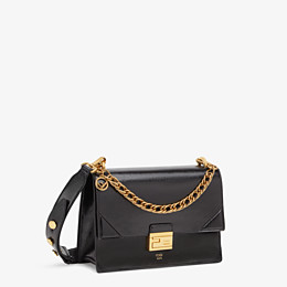 FENDI KAN U - Black leather bag - view 2 thumbnail