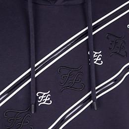 FENDI SWEATSHIRT - Sweatshirt aus Jersey in Blau - view 3 thumbnail
