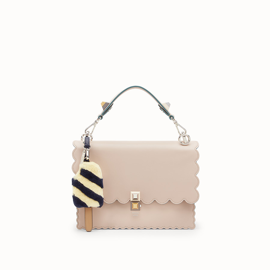 FENDI BIJOU DE SAC ICE CREAM - Bijou de sac en fourrure multicolore - view 2 detail