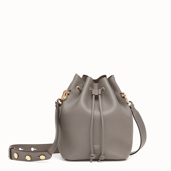 FENDI MON TRESOR - Grey leather bag - view 1 small thumbnail