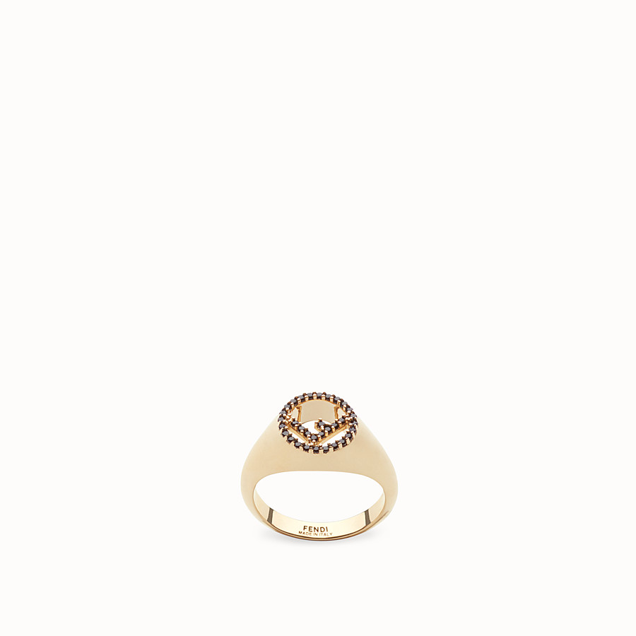 FENDI F IS FENDI RING - Gold-colour ring - view 1 detail