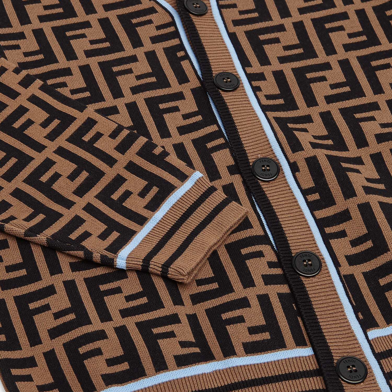 FENDI CARDIGAN - Junior boy knit cardigan - view 3 detail