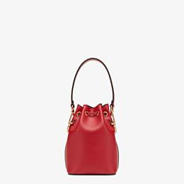 FENDI MON TRESOR - Red leather mini-bag - view 3 thumbnail