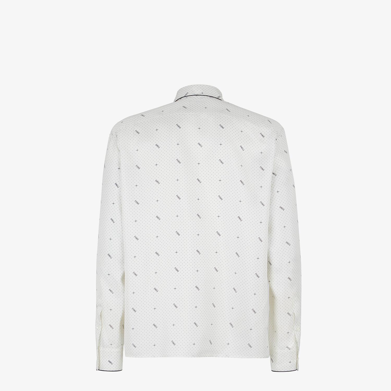 FENDI 恤衫 - 白色真絲恤衫 - view 2 detail