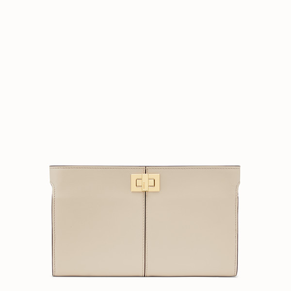 FENDI WALLET - Beige leather wallet - view 1 small thumbnail