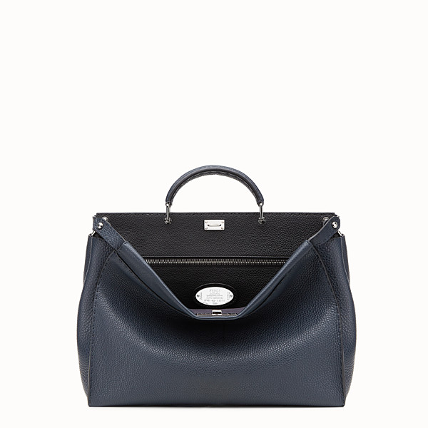 FENDI PEEKABOO ICONIC MEDIUM - Blue Selleria bag - view 1 small thumbnail