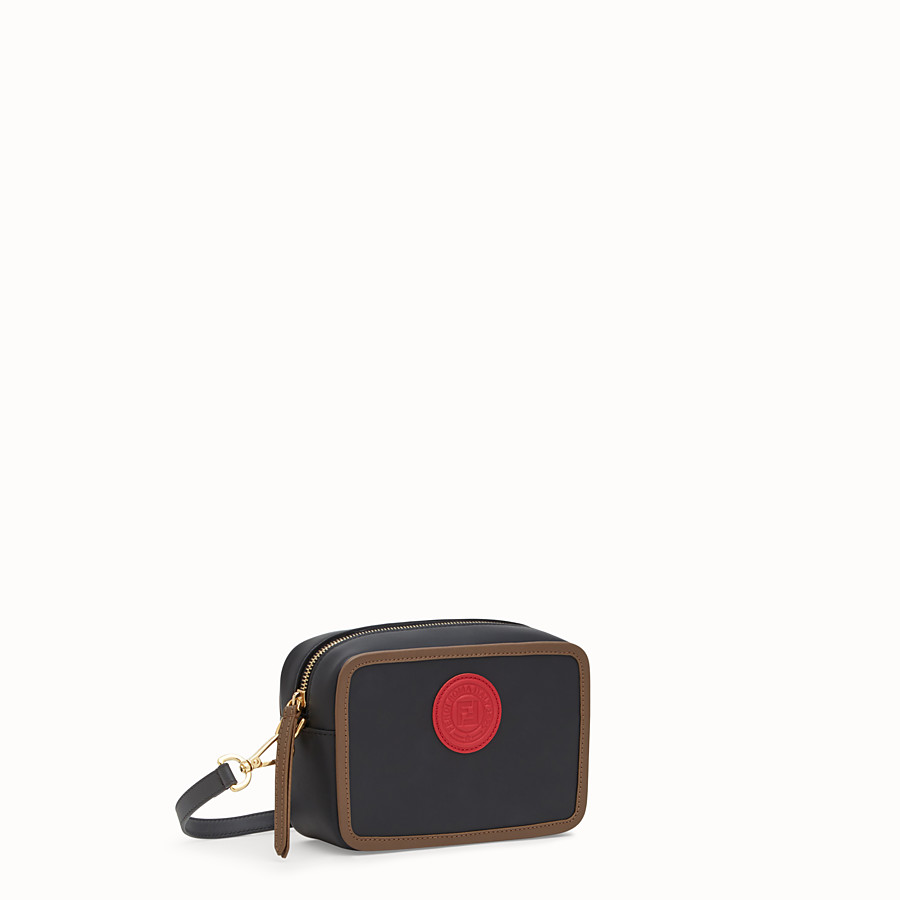 FENDI MINI CAMERA CASE - Multicolour leather bag - view 2 detail