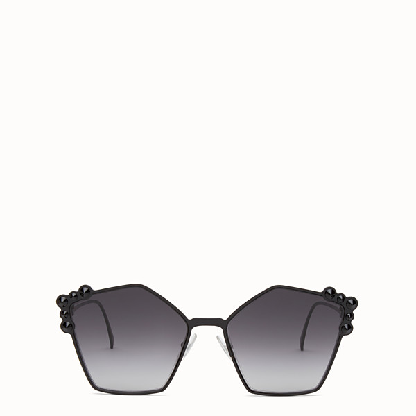 FENDI CAN EYE - Schwarze Sonnenbrille - view 1 small thumbnail