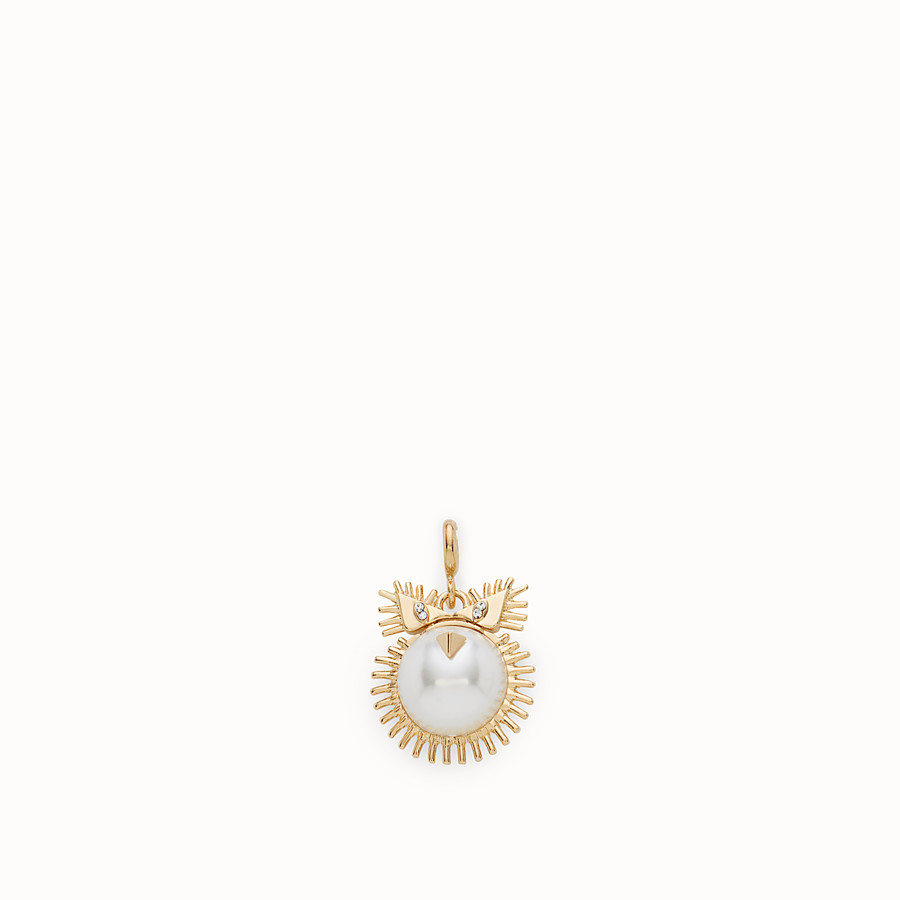 FENDI LEO PENDANT - Pendant with pearl - view 1 detail