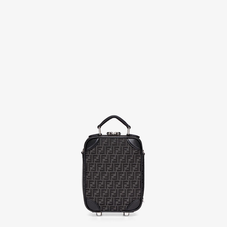 FENDI TRAVEL MINI BAG - FF jacquard fabric bag - view 3 detail