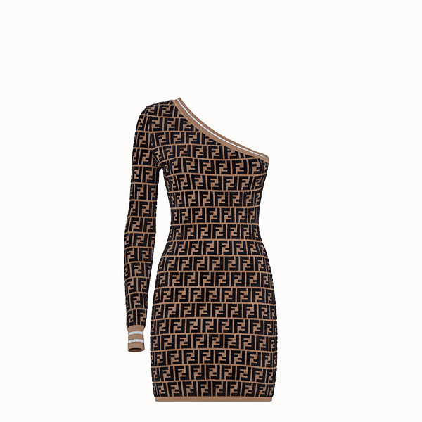 FENDI DRESS - Fendi Prints On knitted dress - view 1 small thumbnail