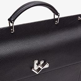 FENDI BUSINESS BAG - Black, calf leather bag - view 5 thumbnail