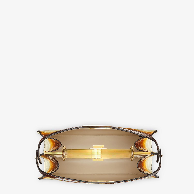 FENDI PEEKABOO ISEEU MEDIUM - Crocodile leather bag in three colors - view 5 detail