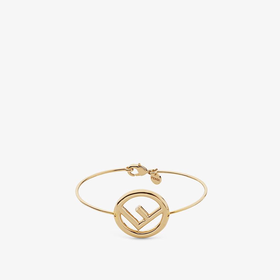 FENDI F IS FENDI BRACELET - Gold color bracelet - view 1 detail