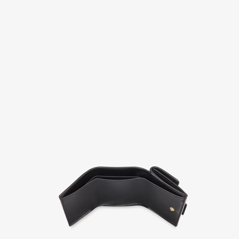 FENDI MICRO TRIFOLD - White nappa leather wallet - view 4 detail