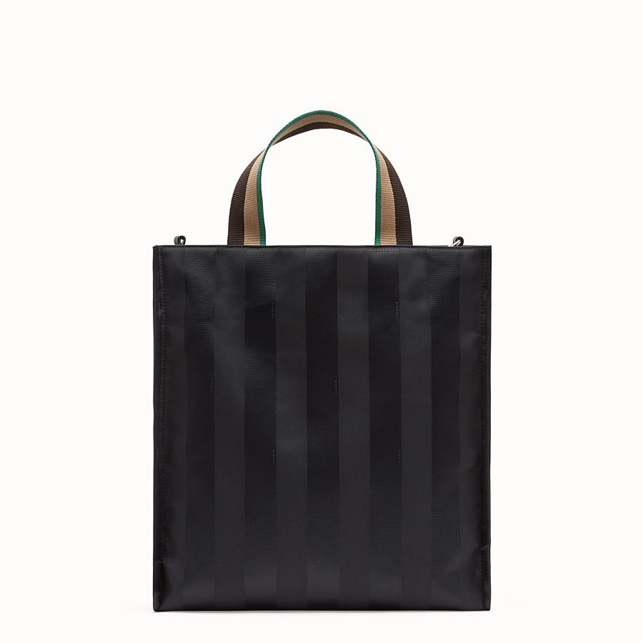 62e57327fd3b Sac en toile noire - CABAS   Fendi