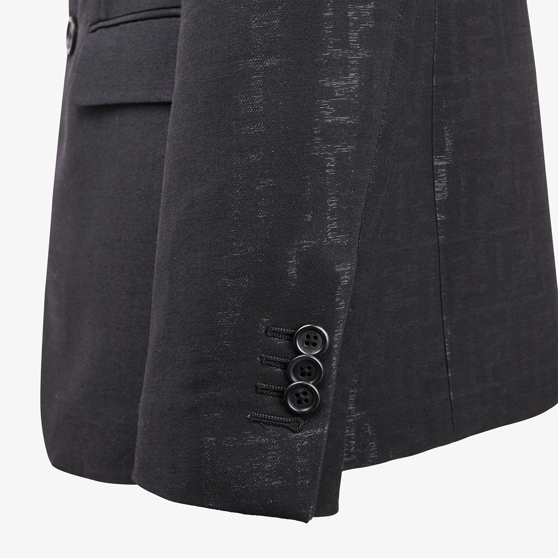 FENDI DRESS - Black wool suit - view 3 detail