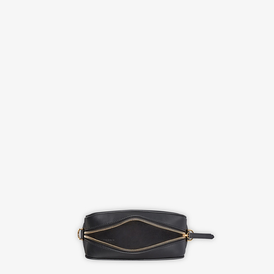 FENDI MINI CAMERA CASE - Black leather bag - view 4 detail