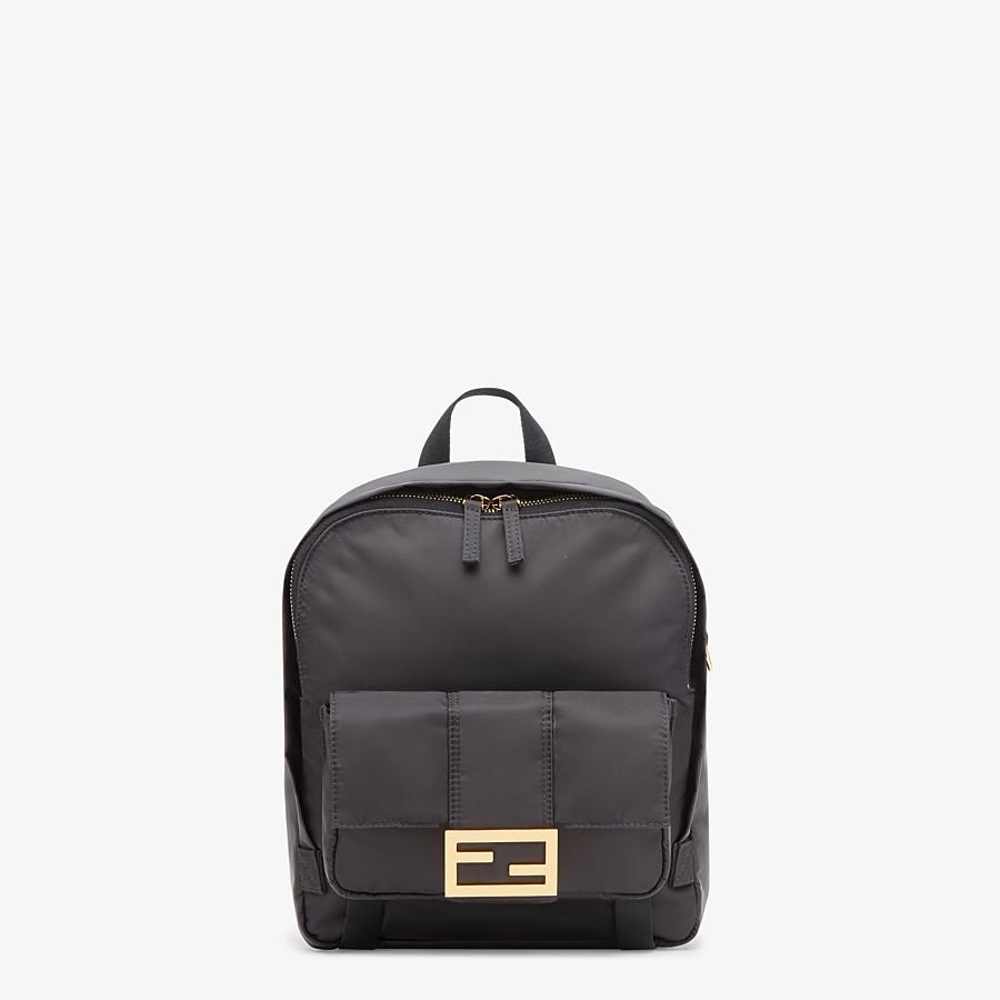 FENDI BAGUETTE BACKPACK - Black nylon backpack - view 1 detail