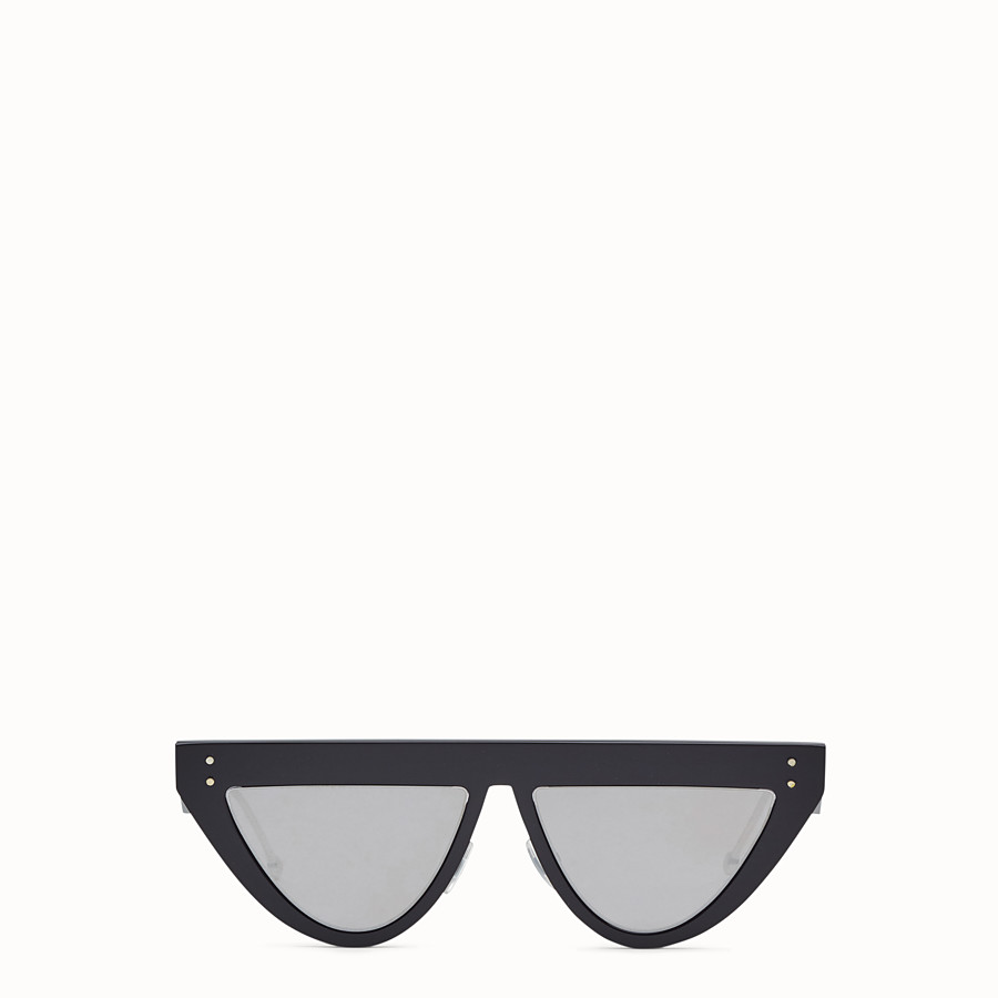 FENDI DEFENDER - Black sunglasses - view 1 detail