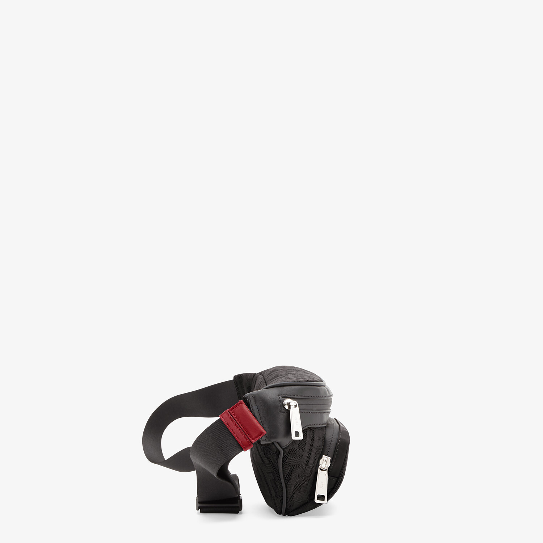 FENDI BELT BAG - Black fabric belt bag - view 2 detail