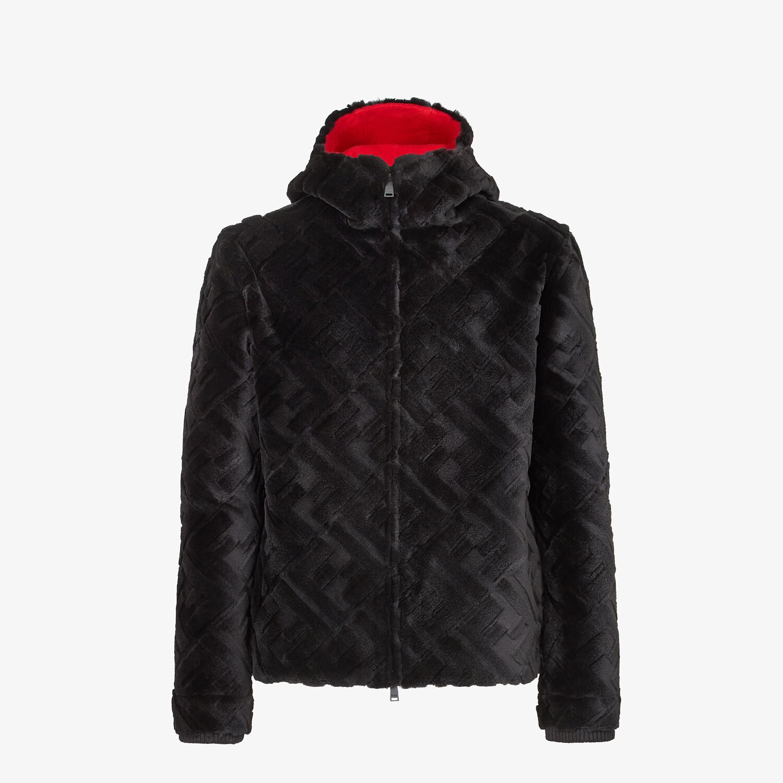FENDI JACKET - Black mink jacket - view 1 detail