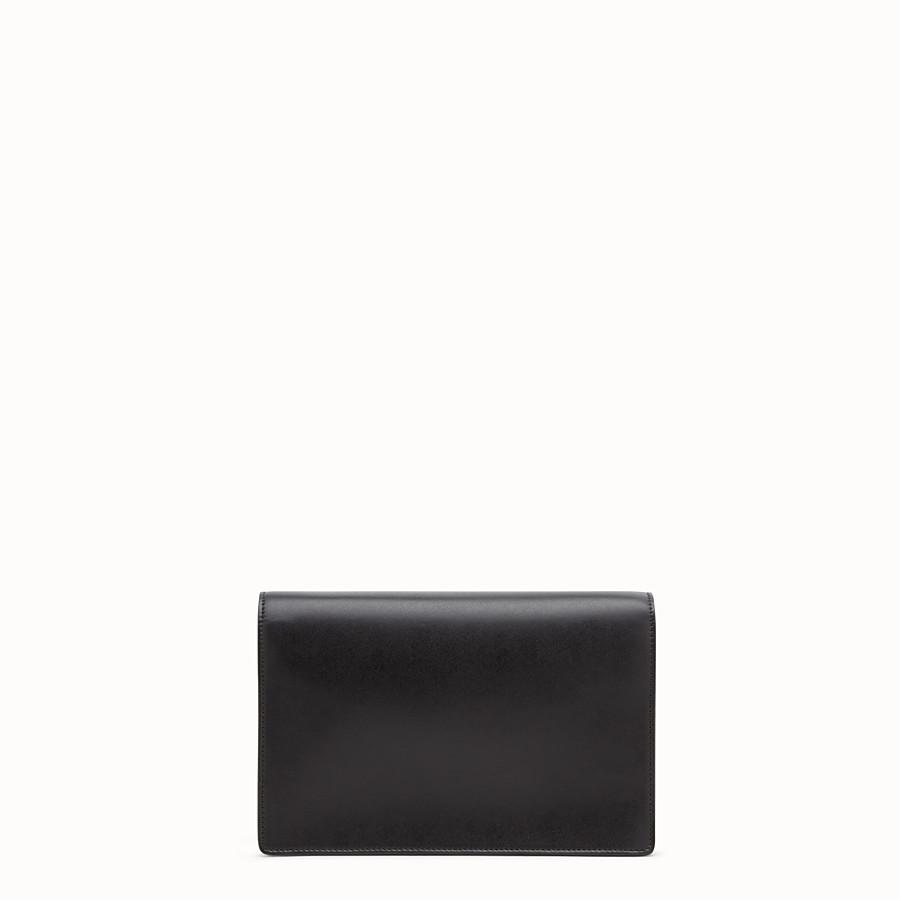 FENDI 鏈帶皮夾 - 奇珍細節皮革迷你手袋 - view 3 detail