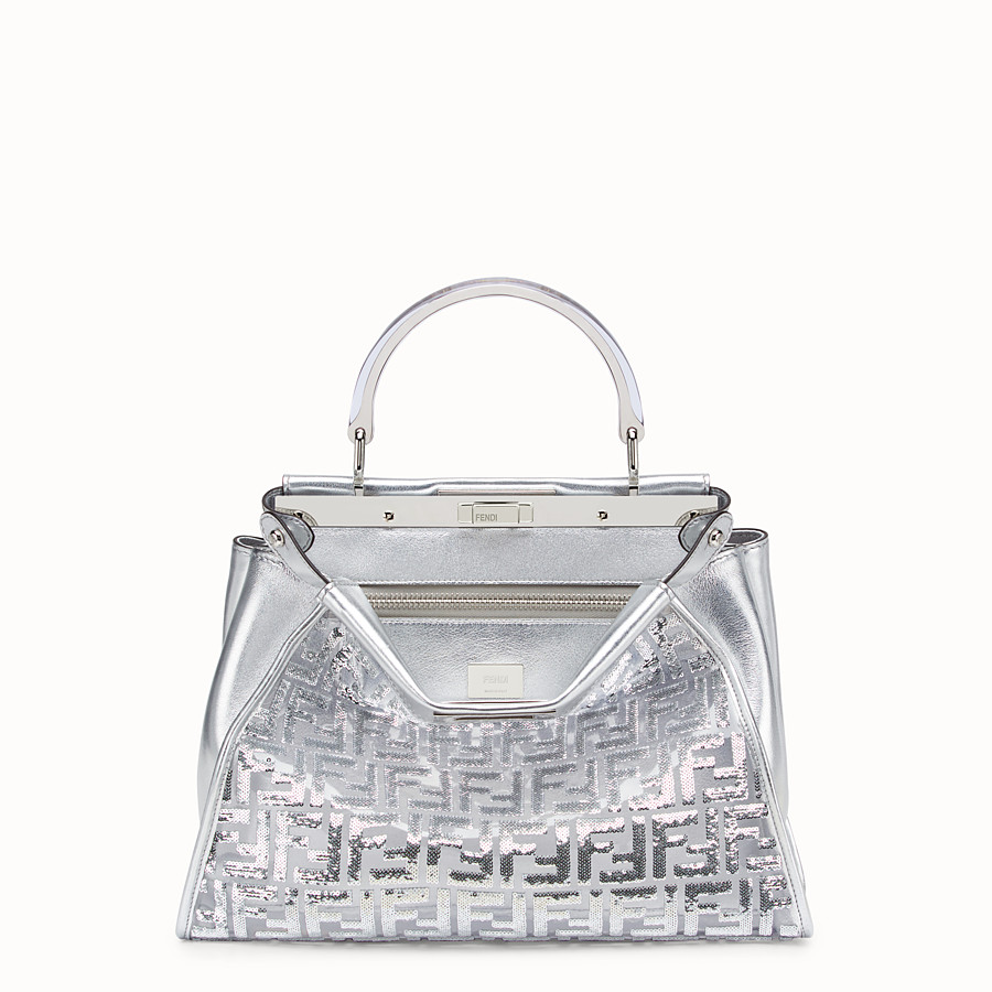 FENDI PEEKABOO ICONIC MEDIUM - Fendi Prints On leather bag - view 1 detail
