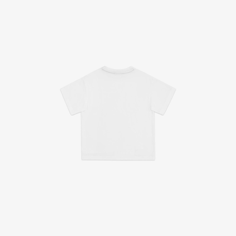 FENDI JUNIOR T-SHIRT - Junior T-Shirt aus Jersey in Weiß und Mehrfarbig - view 2 detail