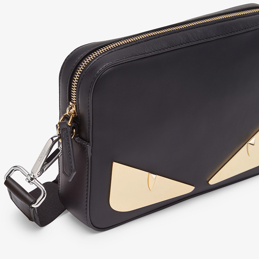 FENDI CAMERA CASE - Black, calf leather bag - view 5 detail