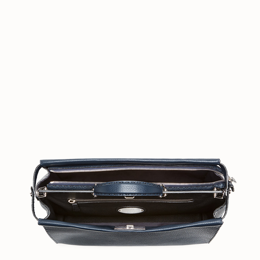 FENDI PEEKABOO ICONIC MEDIUM - Blue Selleria bag - view 4 detail