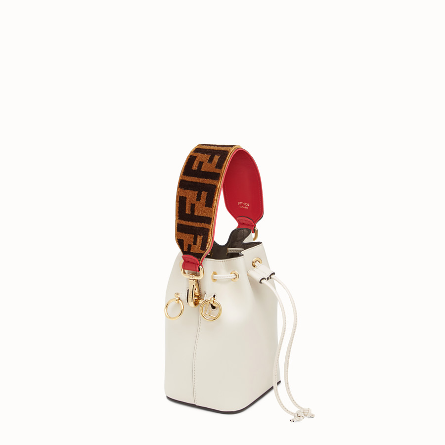 FENDI MINI STRAP YOU - Schulterriemen mit Struktureffekt - view 2 detail