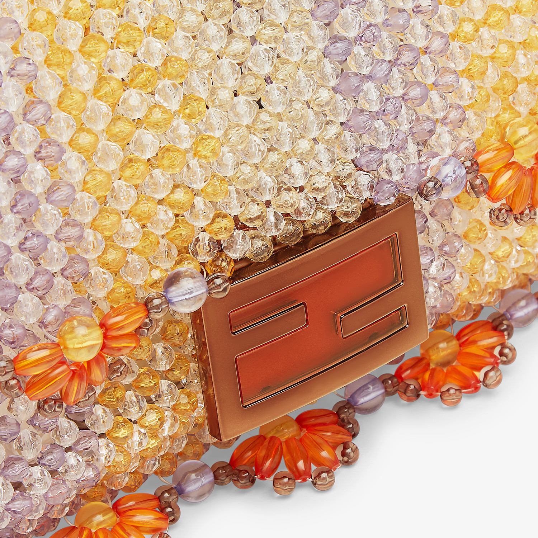 FENDI BAGUETTE - Bag with multicolour beads - view 6 detail