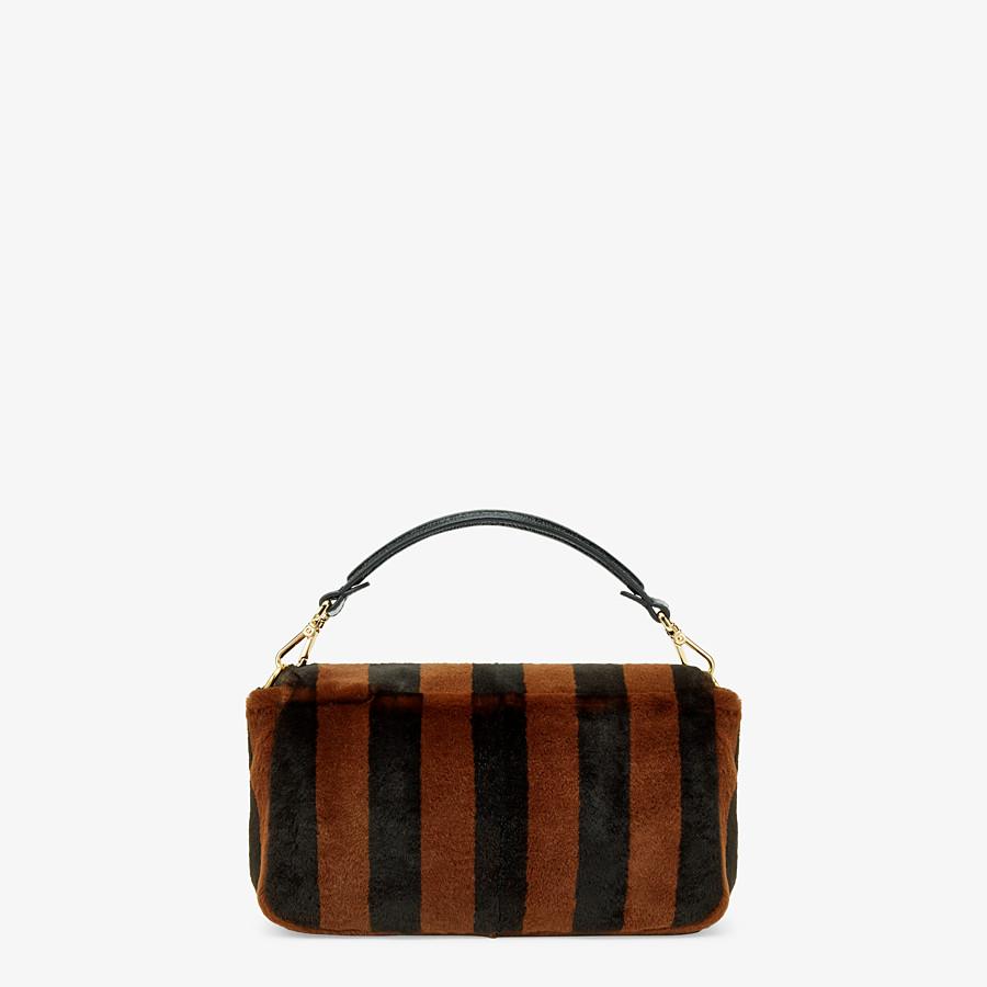 FENDI BAGUETTE - Multicolour mink bag - view 4 detail