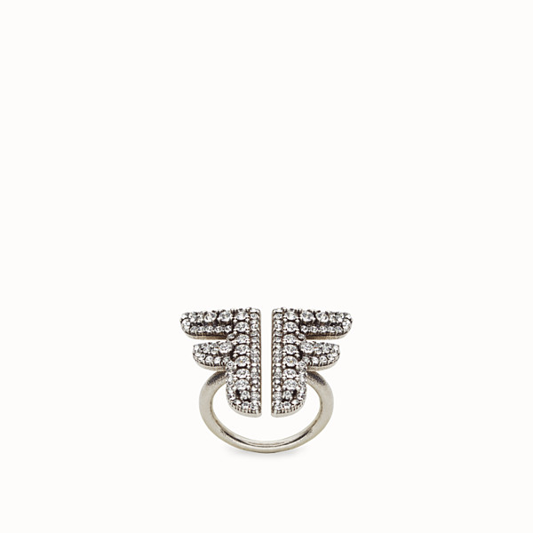 FENDI FFREEDOM RING - Palladium-coloured ring - view 1 small thumbnail