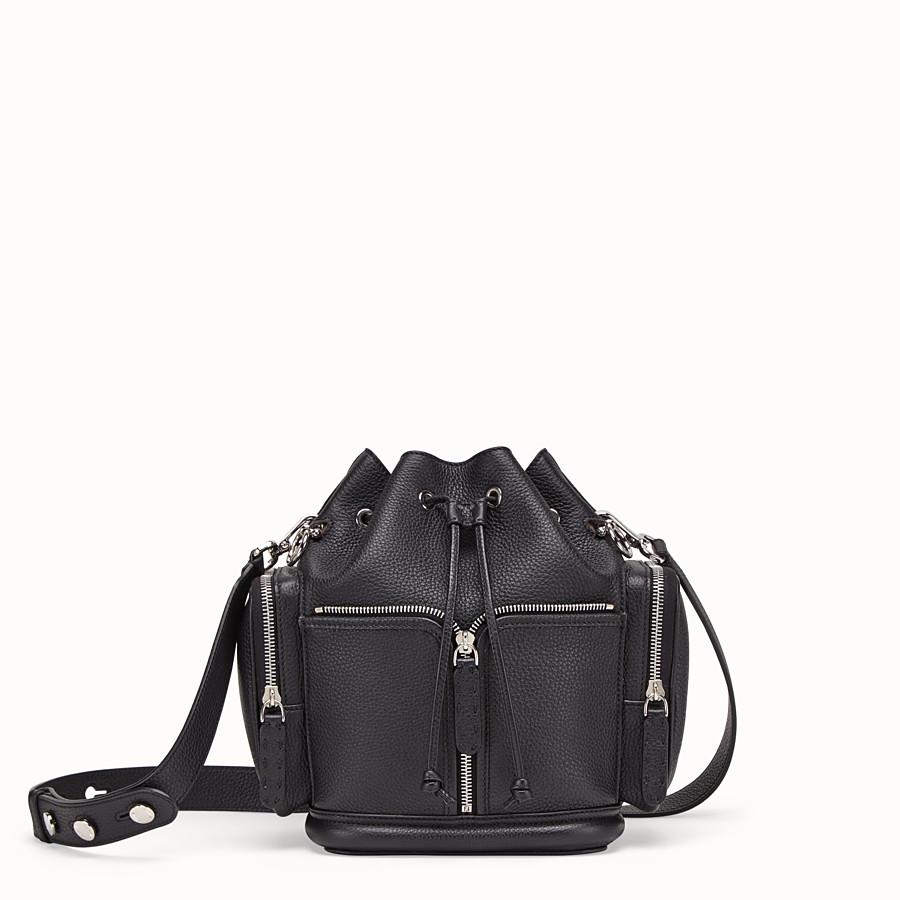 69cb09dc3804b Black leather bag - MON TRESOR   Fendi