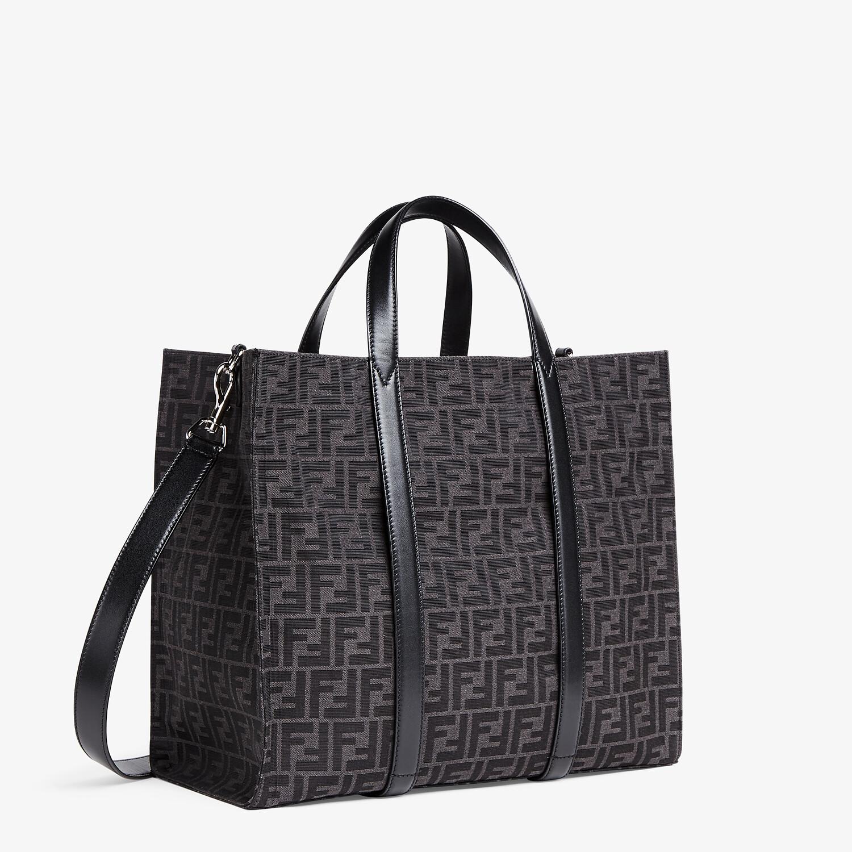 FENDI SHOPPER - FF jacquard fabric bag - view 2 detail